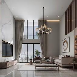 新中式家装效果图表现合集_4005842