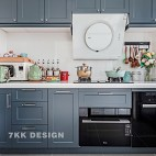 清新明亮北欧风——厨房图片