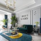 100平-客厅图片