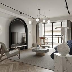 140平中式現代-客廳圖片
