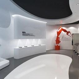 十堰企业展厅装饰装修设计施工2_4023119