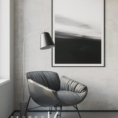 【吉米设计】现代|单身公寓_4023559