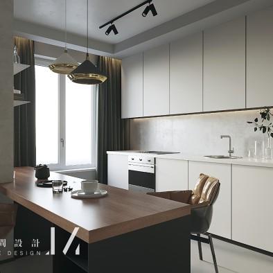【吉米设计】现代|单身公寓