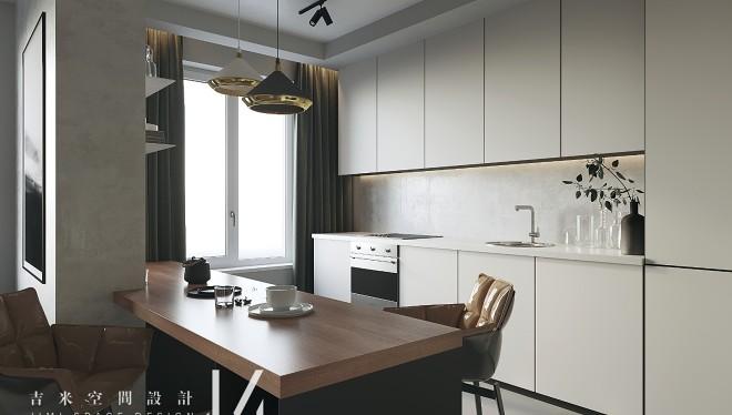 【吉米设计】现代 单身公寓