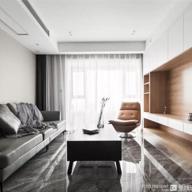 130平现代简约-客厅图片