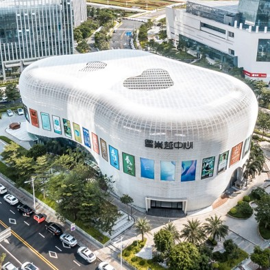 国内首个城市音乐产业综合体-星巢越中心