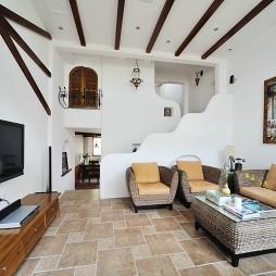 简约美式的旧房翻新案例_4037400