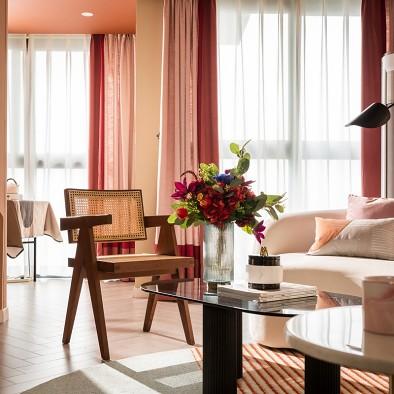 用摩洛哥红筑建美好的家|上夏空间设计案例