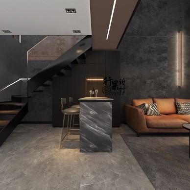 极简黑LOFT公寓_4082653