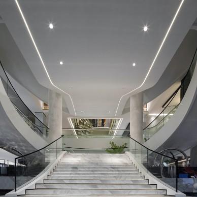 汇亚陶瓷总部展厅:让空间在自由中流淌_1585291974_4090349