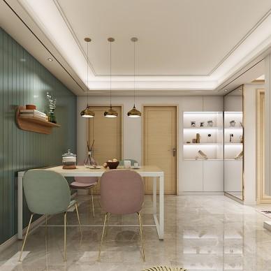 轻奢风家装设计北欧新房设计_1585579557