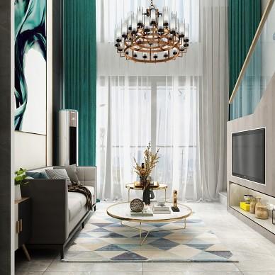 别墅大宅公寓样板间轻奢现代风设计装修_1587020476_4114056