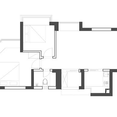 55m²的居所,打造简而不单的生活空间。_1587090637_4115122