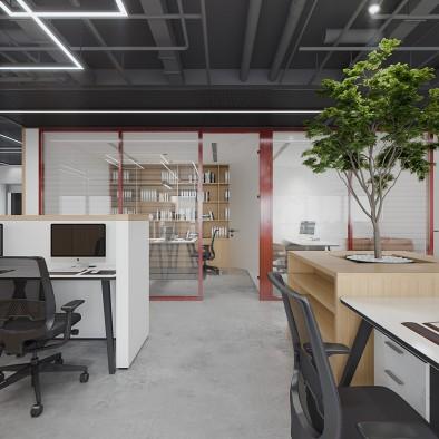 东方语境下的现代格调办公设计