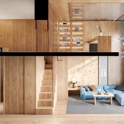 簡樸·你期望的家 / 佛山山水復式公寓_1588077125_4126819