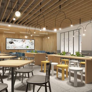 潘多拉生活食集-华空间美食广场设计案例_1588758827_4133965