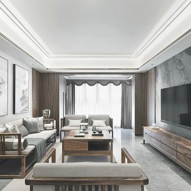新中式  家居氛围中的东方气质|予冰软装_1591954429_4172386