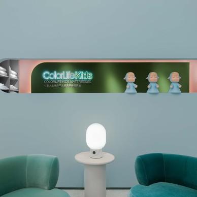 辛军|趣味、艺术、启发的儿童家具展示空间_1592638426_4179203