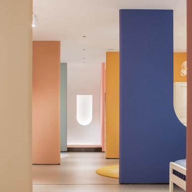 辛军|趣味、艺术、启发的儿童家具展示空间_1592638429