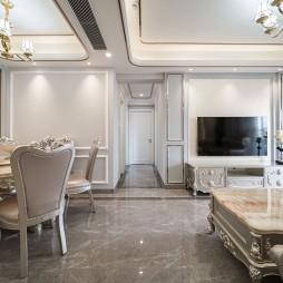 104㎡ 四室两厅,感受欧式古典优雅浪漫_1593164090_4184485