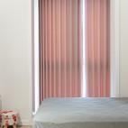 卧室窗帘粉色