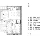 143平米1楼户型图