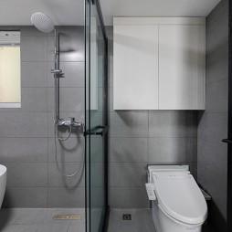 卫生间干湿隔断效果图