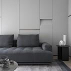 长方形小客厅装修图