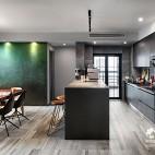 小型开放式厨房装修效果图