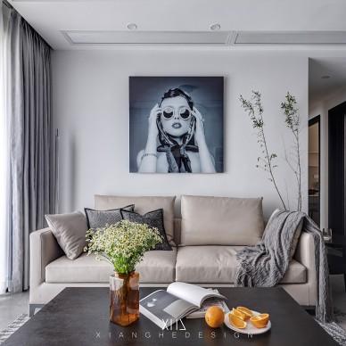 客厅电视背景画设计