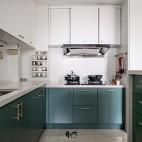 小厨房橱柜整体效果图