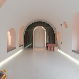 南通多宝贝月子中心等候门厅设计