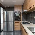 厨房实木效果图
