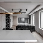 精装房打造黑白灰高逼格工业风品质生活_1595154473_4208663