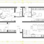 185平米四居室户型图
