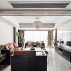 新中式客厅装饰效果图