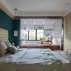 中式卧室背景效果图