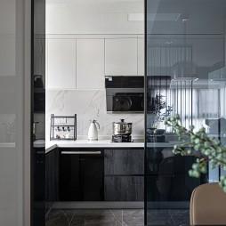 厨房玻璃推拉门隔断