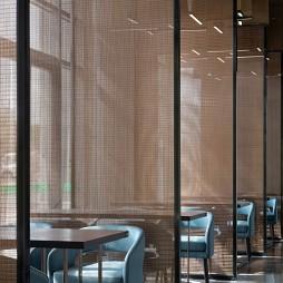 翠园餐厅隔断设计图