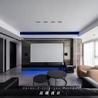 客厅投影效果图