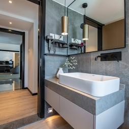 卫生间洗手台设计图片