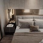 卧室灯带效果图