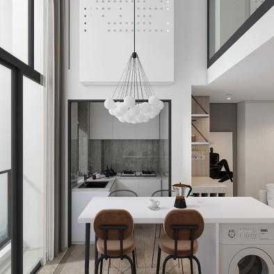 富通好望角 小复式住宅设计