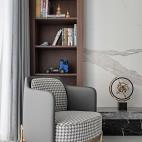 客厅书架设计
