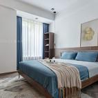 浅蓝色卧室图片