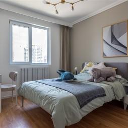 现代风卧室装修效果图