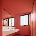 东宇物流办公大堂洗手间设计