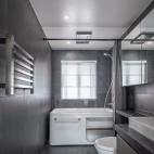 长方形卫生间装修图片
