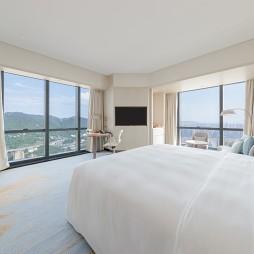 重庆来福士洲际酒店客房设计