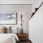 现代简约卧室吊顶图
